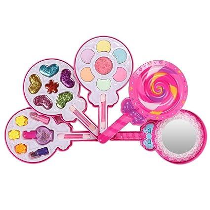 Juego de maquillaje de juguete para niños, maquillaje para ...