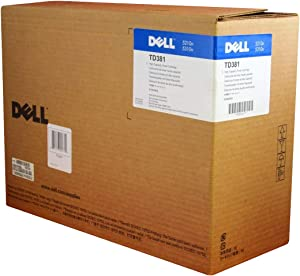Dell TD381 5210 5310 Toner Cartridge (Black) in Retail Packaging