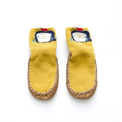 Calcetines para bebés, calcetines para el piso para bebés, calcetines antideslizantes suaves y transpirables