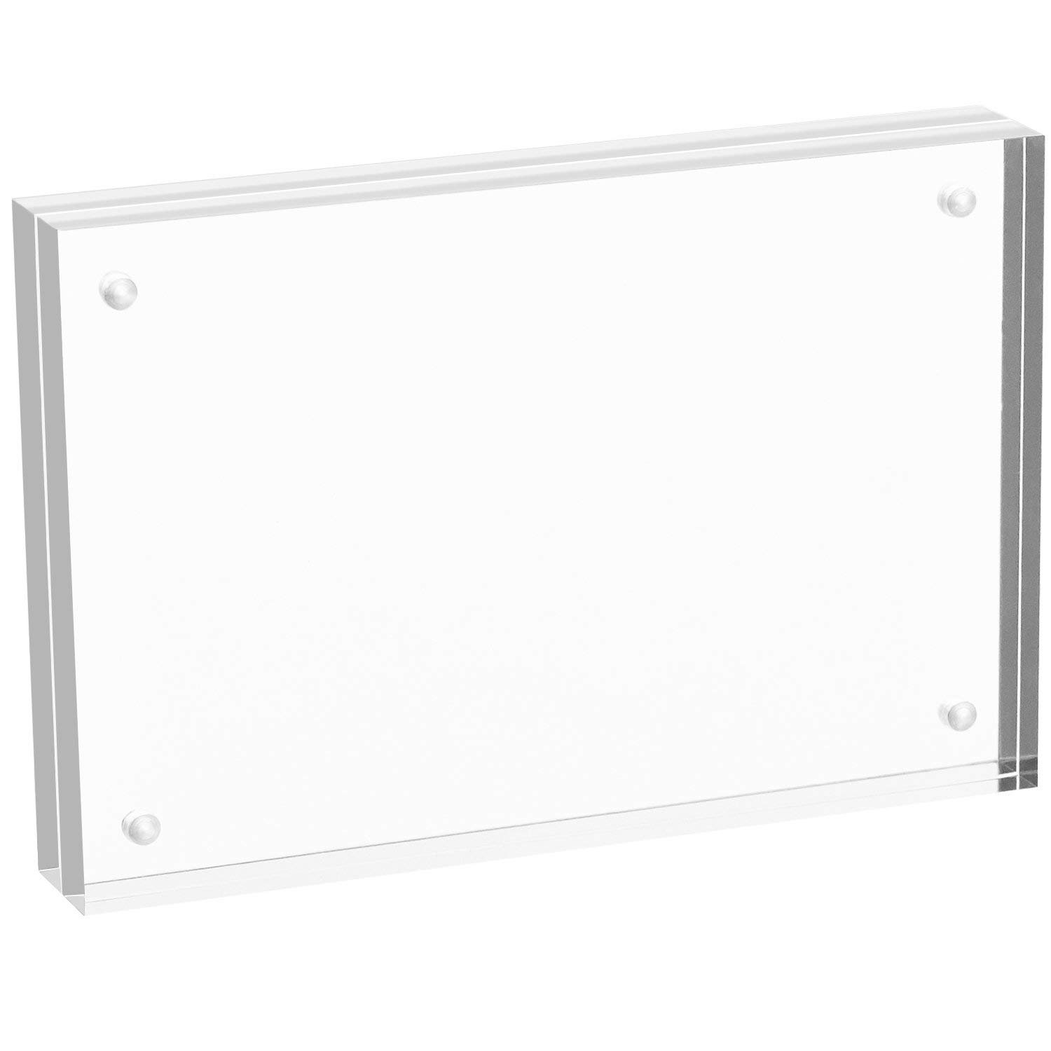 Acrylic Photo Frames Picture Frame Rectangle (8 x10)