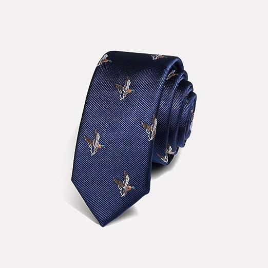 Yuany Corbata de poliéster para Hombres Corbata de Animales para ...