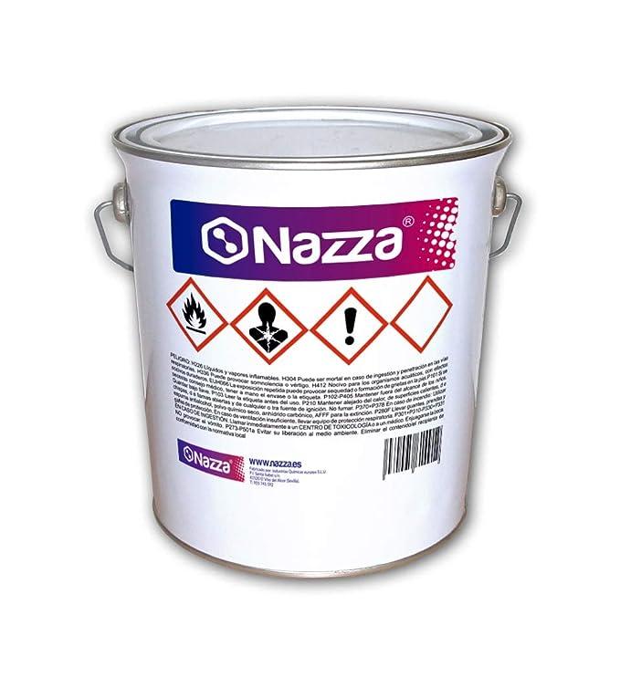 Resina Epoxi Nazza | Para Coladas, Oclusiones y Encapsulaciones | Líquida y autonivelante | De elevada viscosidad transparente | Para bisutería, ...