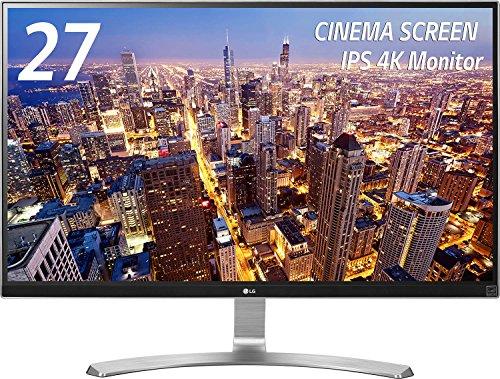 LG 27UD68-W IPSディスプレイ モニター27インチ 4K/3840×2160/AH-IPS非光沢/HDMI2.0準拠