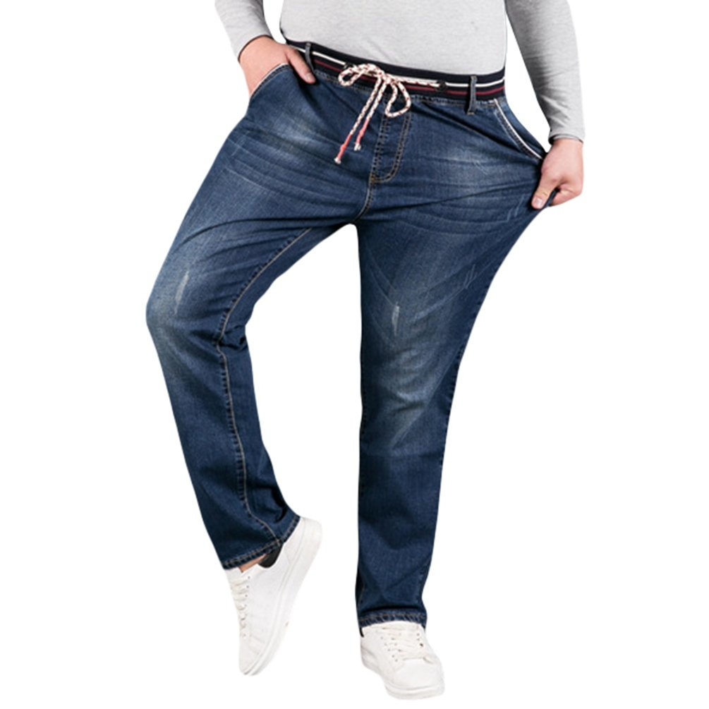 Xinwcang Vaqueros Hombre Slim Fit Stretch Jeans Moderno y Casual ...