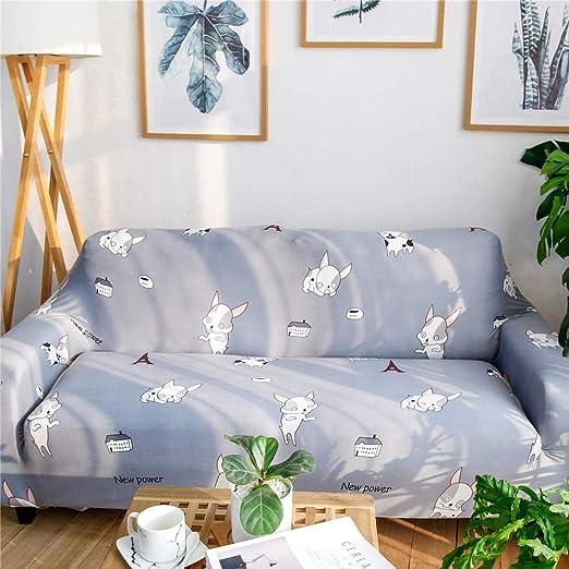 RenshenX Funda sofá Microfibra - Protector Antideslizante Muebles ...