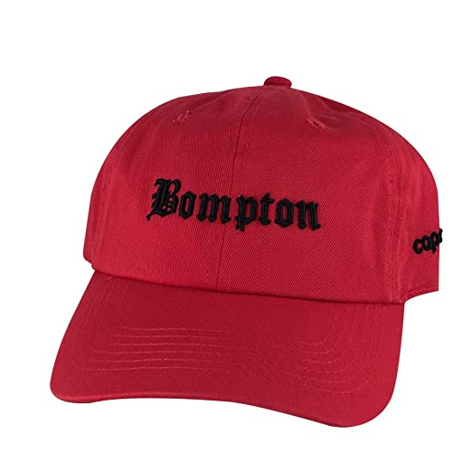 a73d1973a Retro NWA 3D Bompton Old English Unstructured Baseball Hat Dad Cap ...