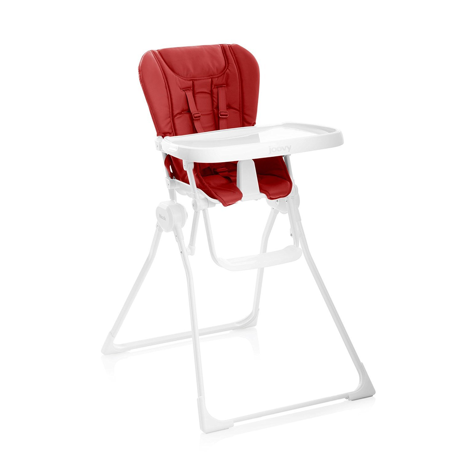 JOOVY Nook High Chair ハイチェア (並行輸入品) B07BT77SYJ  Red One Size