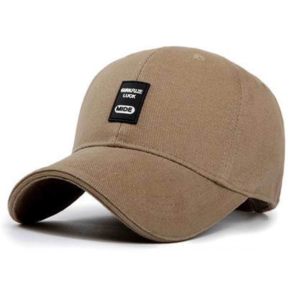 Amazon.com: FDRGOTTEN Baseball Cap Men Snapback Hats for Men Women Running Cap Bone Male Female Casual Dad Hat Black Black: Clothing