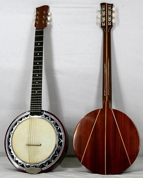 Musikalia luthery versión para zurdos Banjo guitarra, doble ...