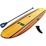 """ISLE Classic Soft Top Stand Up Paddle Board (5"""" Thick) SUP Package 