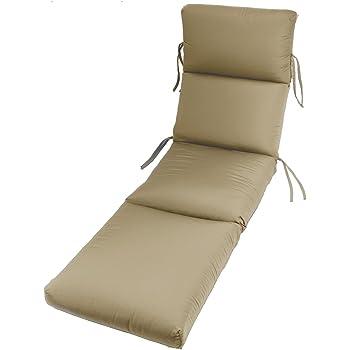 Kettler Sunbrella Cushion For Roma Chaise Lounge Dolce Mango