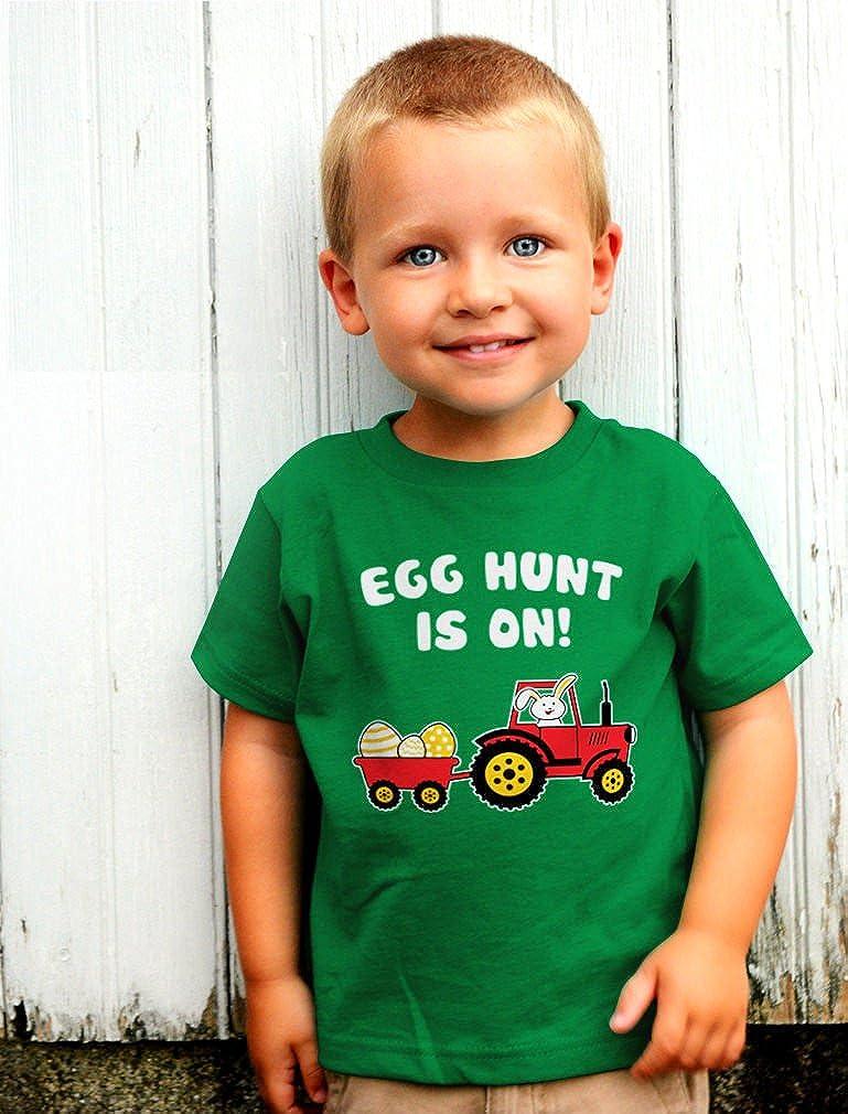Easter Egg Hunt Gift for Tractor Loving Kids Toddler Hoodie Easter Bunny /& Egg