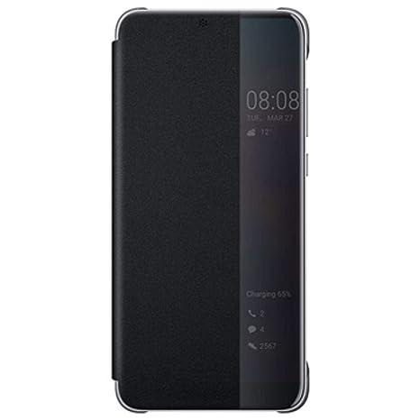 rivenditore all'ingrosso 3db73 be239 Huawei P20 Pro Custodia Flip, Interattiva, Nero