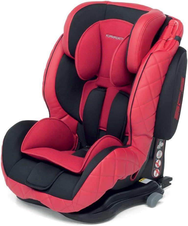Foppapedretti Teknofix - Silla de coche, grupo 1/2/3, color rojo ...