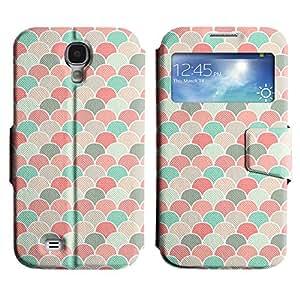 LEOCASE modelo lindo Funda Carcasa Cuero Tapa Case Para Samsung Galaxy S4 I9500 No.1007052