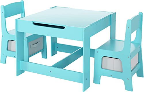 LAZY BUDDY Kids Table and Chairs Set