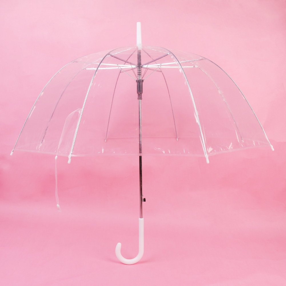 Amazon.com: WJY bubble umbrella ladies Transparent Clear Bubble Dome Umbrella for Wind and Heavy Rain: Home & Kitchen