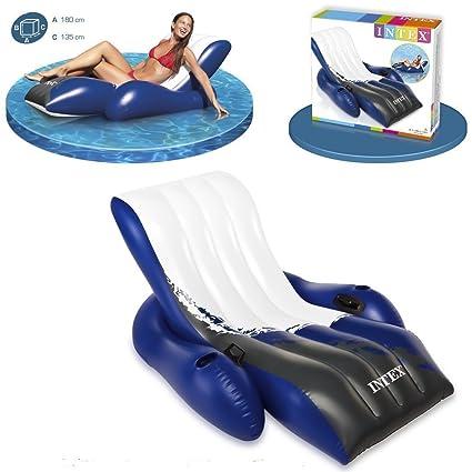 Colchón piscina Lounge Deluxe: Amazon.es: Juguetes y juegos