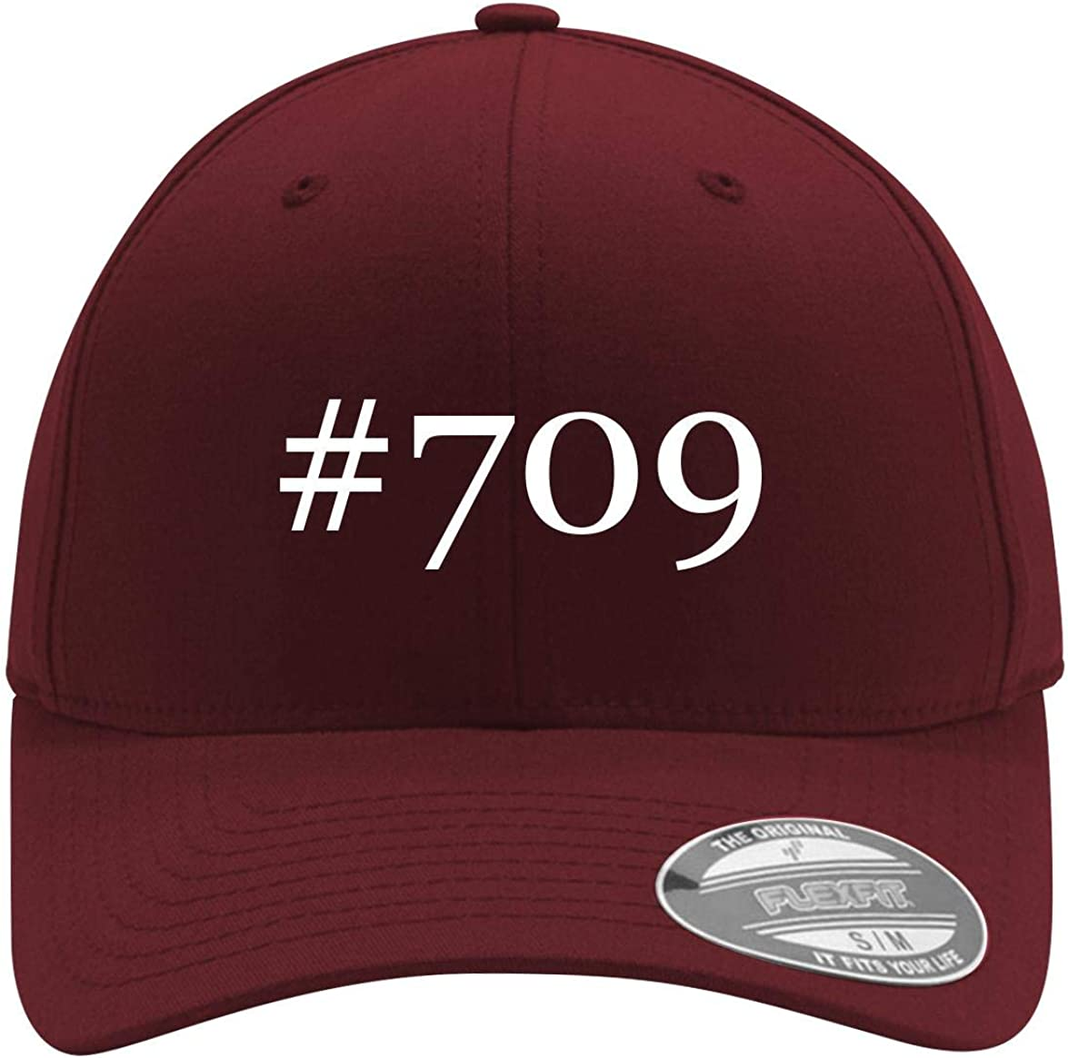 #709 - Adult Men'S Hashtag Flexfit Baseball Hut Cap