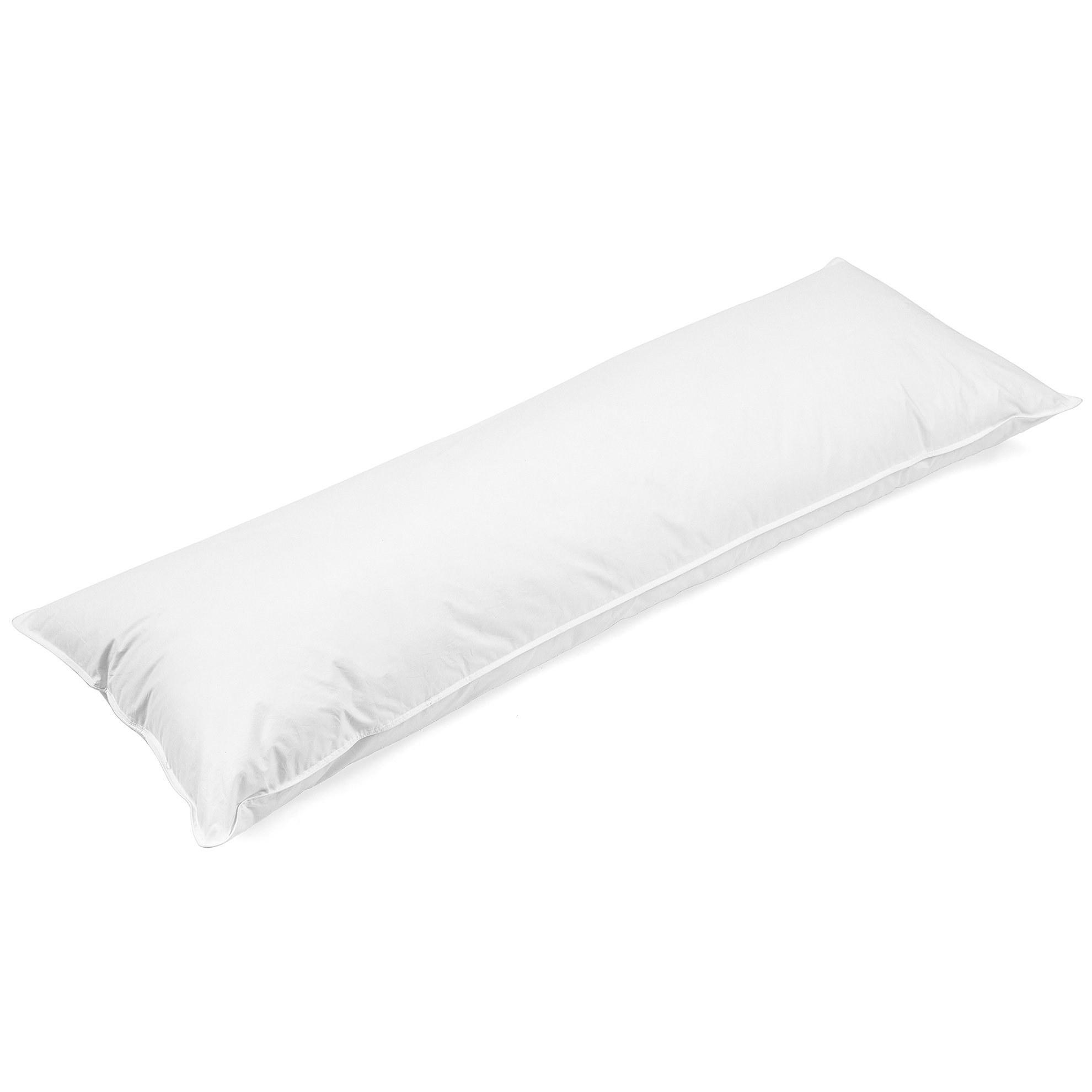 SweetBed Body Pillow 230TC Cotton Cover Hypoallergenic Ultra Soft Long Pillows for Adults 20 x 54 inch