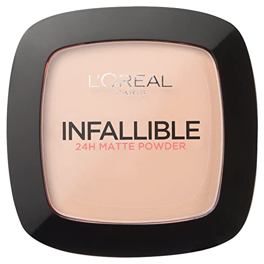 Infallible Powder Foundation Compact by L'Oreal Paris 123 Warm Vanilla