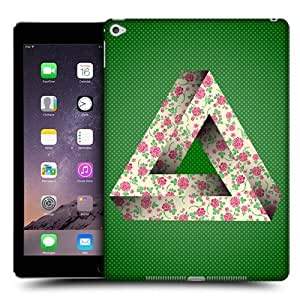 Head Case Designs Floral Penrose Triangle Protective Snap-on Hard Back Case Cover for Apple iPad Air 2