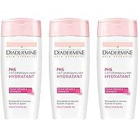 Diadermine - Lait Démaquillant Hydratant - 200 ml - Lot de 3