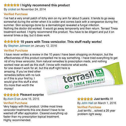 Terrasil 174 Tinea Treatment Max 6x Faster Relief 100