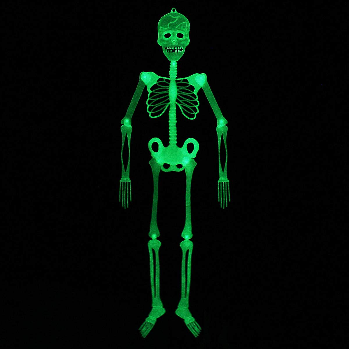 Halloween Luminou Human Skeleton Decoration Classroom Occasionally Adjustable - 1PCs by Unknown (Image #3)