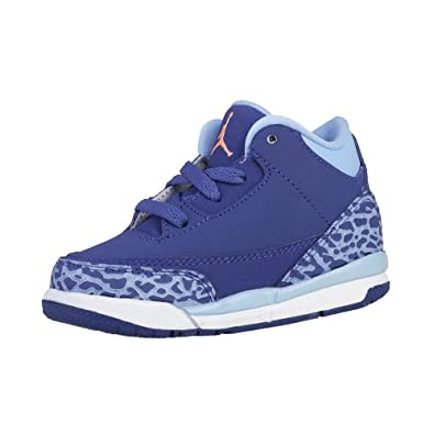 Nike Jordan 3 RETRO GT girls fashion-sneakers 654964-506_4C - Dark Purple  Dust