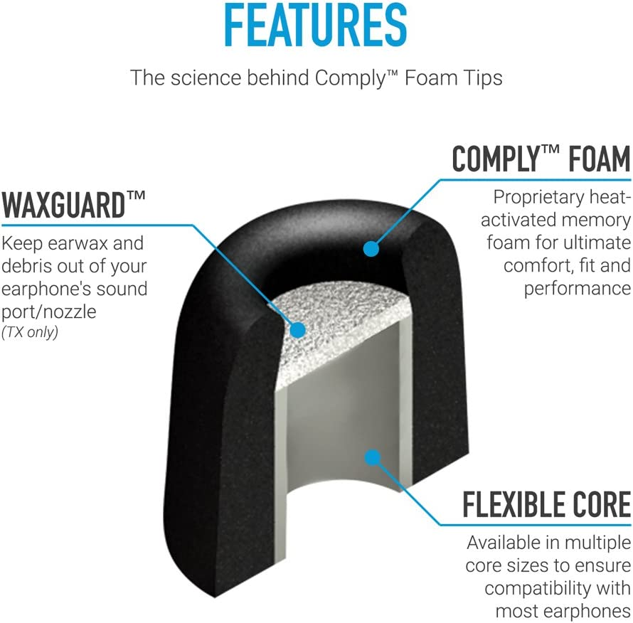 Comply T-500 Ohradapter Platinum