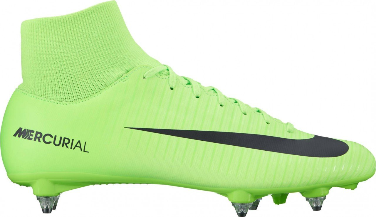 nike Mercurial Victory VI DF SG Mens Football Boots 903610 Soccer Cleats (US 11, electric green black 303)