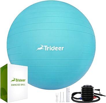 Pelota de yoga Trideer, extra gruesa y antideslizante ...