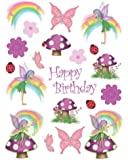 Fancy Fairy Value Stickers 4 Per Pack