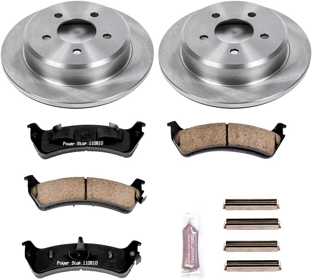 Autospecialty KOE5592 1-Click OE Replacement Brake Kit