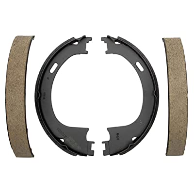 Raybestos 752PG Professional Grade Parking Brake Shoe Set - Drum in Hat: Automotive