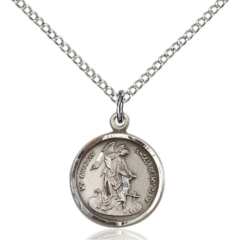 Benedict Pendant with 18in Sterling Silver Light Curb Chain Bonyak Jewelry Sterling Silver St