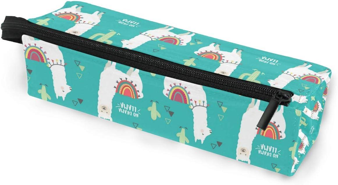 Estuche para gafas de sol con diseño de Cactus de Alpaca, color blanco, caja suave para mujeres y niñas: Amazon.es: Oficina y papelería