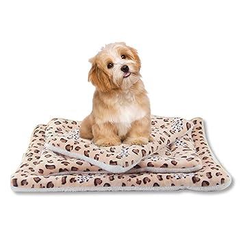 LA VIE - Alfombrilla de cama para mascotas, cojín cálido, suave y acogedor,