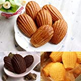 Silicone Madeleines Mold - 9 Cavities Nonstick