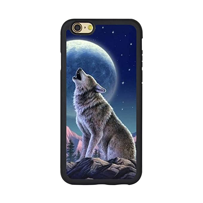 hot sale online 0aa92 2f75a Amazon.com: Andenley Wolf Phone Case Slim Anti-Scratch Shockproof ...
