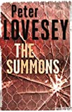 Front cover for the book The Summons by Peter Lovesey