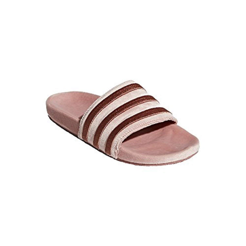 low priced 07e98 630d3 Amazon.com   adidas Women Originals Women s Adilette Slides DB0159    Slippers