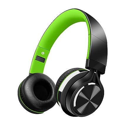 Alitoo Auricular inalámbrico, Cascos Bluetooth Inalambricos Plegable con Micrófono, 12 hrs Reproducción de Música