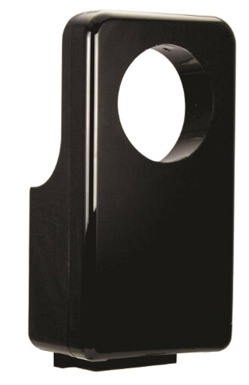 secador de manos ecodryer de aire comprimido profesional horizontal 360 negro. Bajo consumo eléctrico 900 W. secado rápido 7 A 10 segundos. Plus de papel.