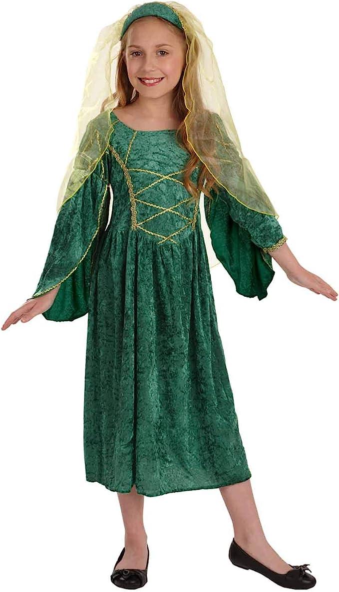 Amazon.com: Trajes históricos para niñas niños Viking Tudor ...