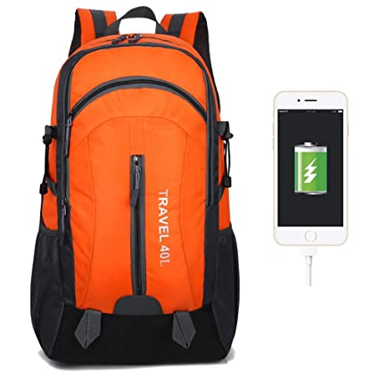 60cad85d96db Amazon.com : BZFjy Outdoor Bag Men and Women Mountaineering Bag ...