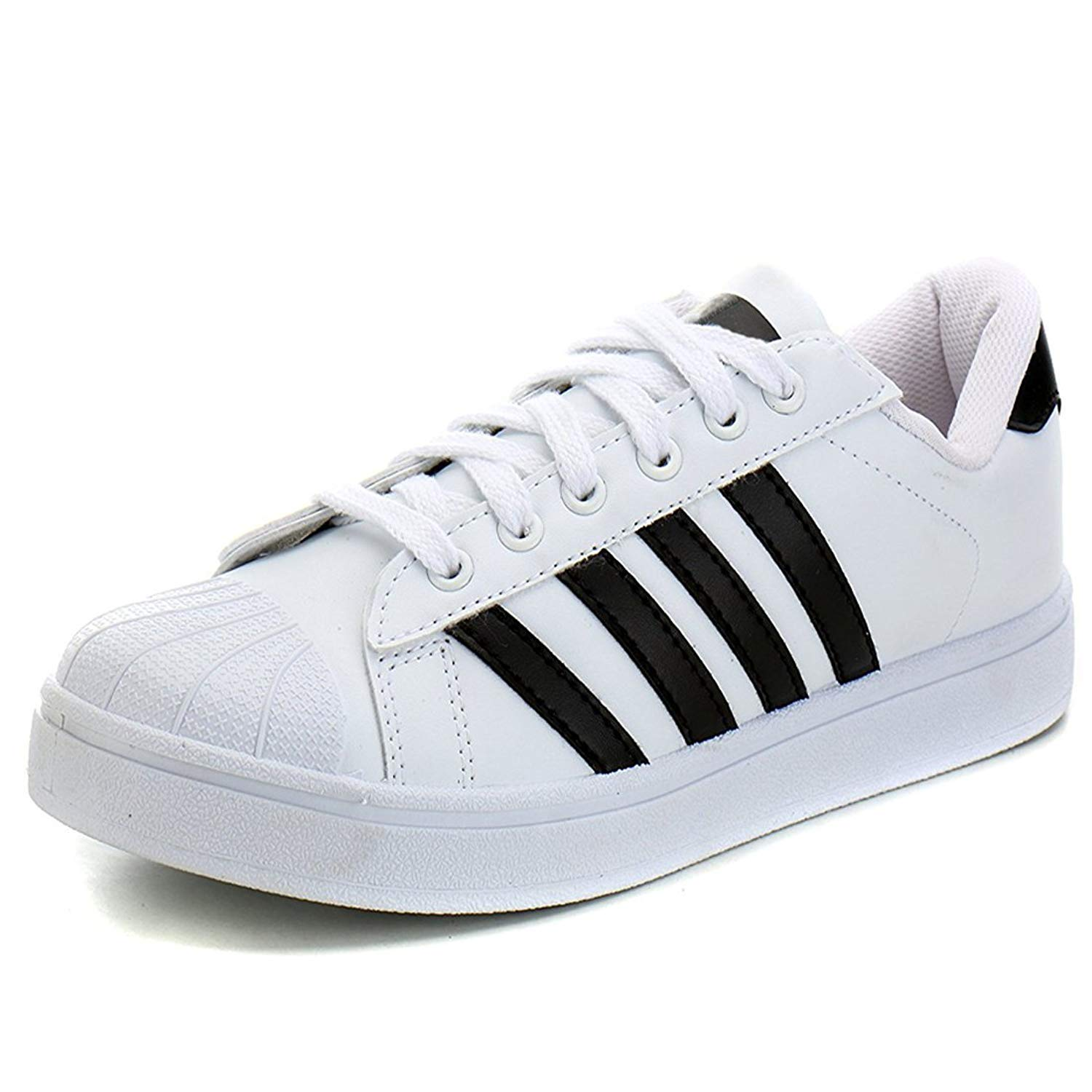 94c13a1b2a7fce Maddy White Superstar Sport Shoes for Men in Various Sizes  Buy Online at  Low Prices in India - Amazon.in