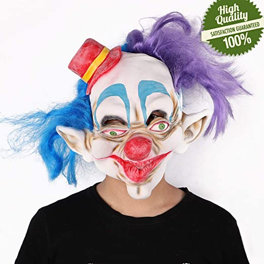 Clown Nose Hat Mask Carnival Accessory Unisex Decorative Cosplay Party for Adult