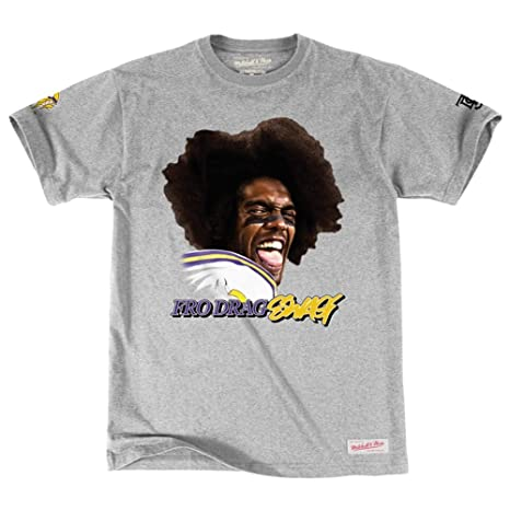cheap for discount 86df3 cf3b0 Mitchell & Ness Minnesota Vikings Randy Moss Toe Drag Swag Fro Swag T-Shirt